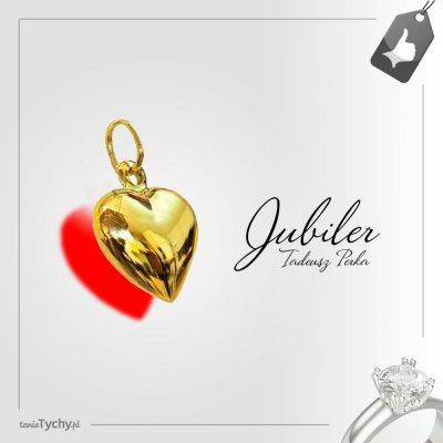 Złota zawieszka ❤️ serce ❤️ złote serduszko ❤️