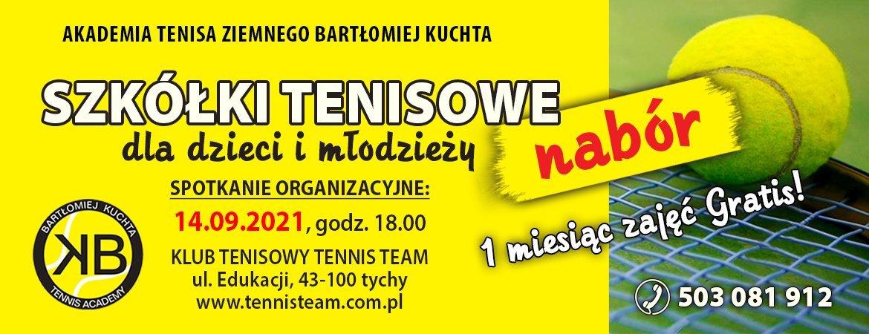 Akademia Tenisa zaprasza do szkółki tenisa dzieci imłodzież
